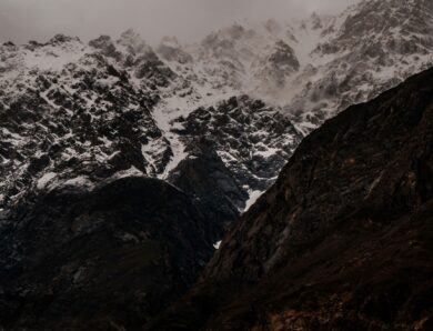 Best mountain views at camera