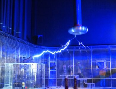 Indukcja elektrostatyczna Nikoli Tesli